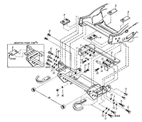 western plows wiring diagram unimount 9 pin western mvp