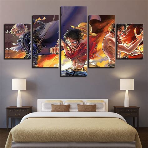 paintings home decor wall canvas poster living room home decor 5 pieces one