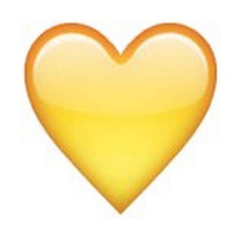 emoji yellow heart meaning the new emojis for snapchat best friends with april 6th