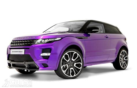 purple range rover overfinch range rover evoque gts 2012 photos