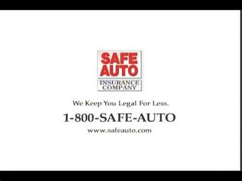 safe auto commercial 1 800 safe auto commercial youtube