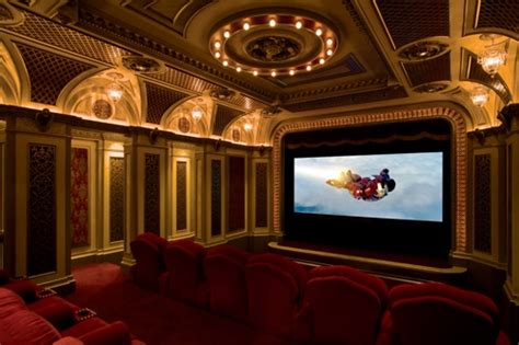 French Provincial Floor Plans by Indianapolis Home Theater With Box Office Lobby