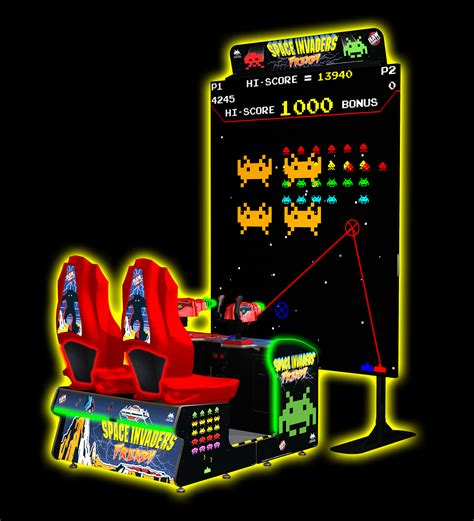 The Space Invaders space invaders frenzy thrills inc