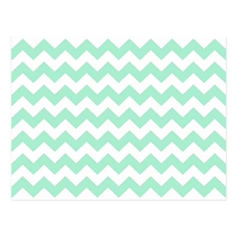 green zig zag pattern mint green zig zags zigzag chevron pattern postcard zazzle