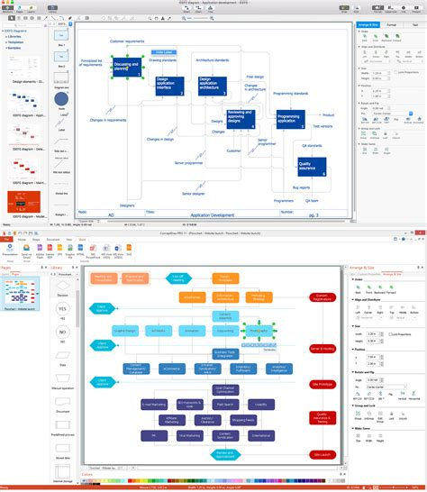 flowchart creator windows flowchart software create a flowchart