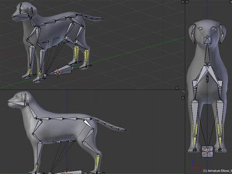 blender 3d tutorial rigging dog rig by keyyva on deviantart