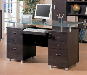 Best Modern Desks Modern Glass Office Desk