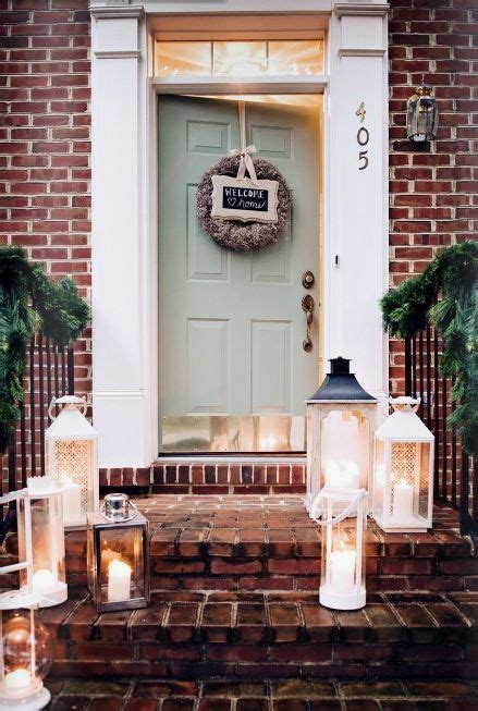 front door colors with red brick front door color red brick lanterns exterior house