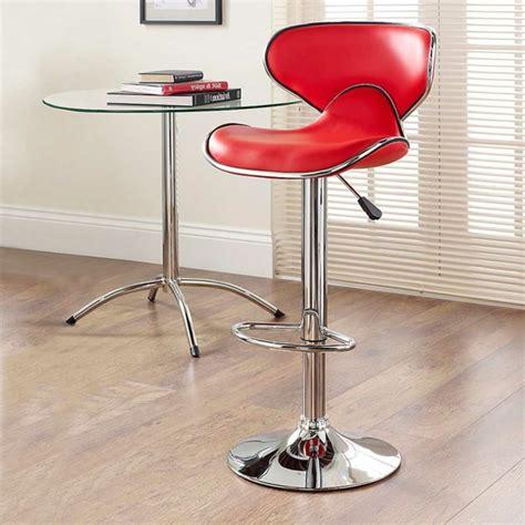 rote barhocker rote barhocker bringen eleganz zu jeder k 252 che archzine net