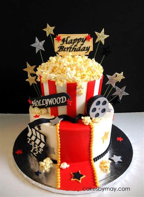 themed birthday cakes online movie hollywood theme birthday cake on cake central