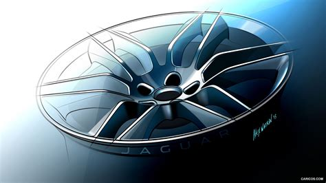 Car Wheel Types by 2015 Jaguar F Type R Coupe Wheel Design Sketch