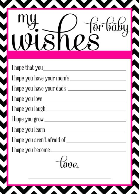 wishes for baby template wishes for baby template sanjonmotel