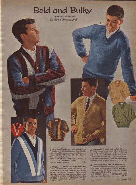 60er Mode Herren by 1960s Fashion For Boys 60s Fashion Trends Photos
