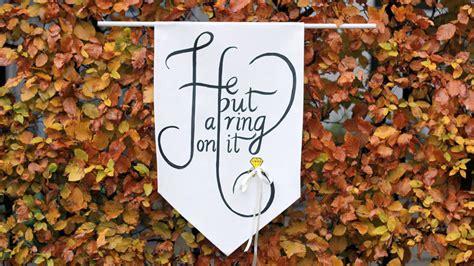 Wedding Banner For Ring Bearer by Diy Ring Bearer Banner Etsy Weddings
