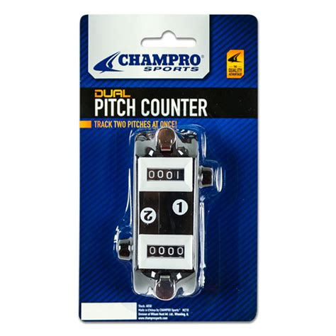 Pitch Counters chro dual pitch counter a050