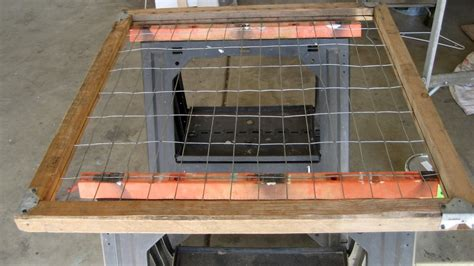 Garage Gate For Dogs by Spruce Your Nest Gate Turned Herb Garden