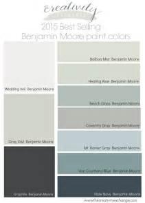 2015 best selling benjamin moore paint colors the creativity exchange