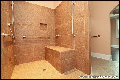 Build In Stages House Plans by Six Ideas For Accessible Shower Design Ada Accessible Homes