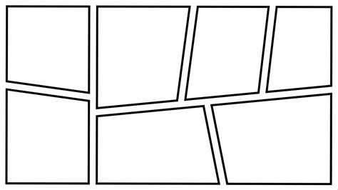 Comic Frame By Zarodas On Deviantart Comic Frame Template