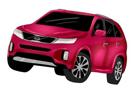 Kia Net 2014 Kia Car Suv Minivan Line Up Cartoonized Vehicle