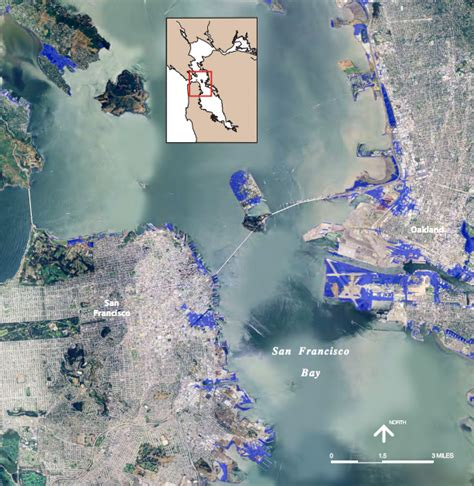 san francisco flood map surf s way way up sea level rise explained grist
