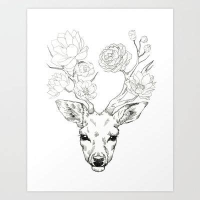 watercolor tattoo deer watercolor sunflower deer search tattoos