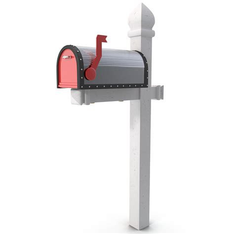mailbox for 3d model mailbox 2