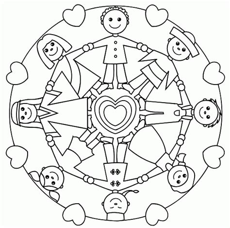 world of mandalas coloring book pdf children around the world coloring page holding