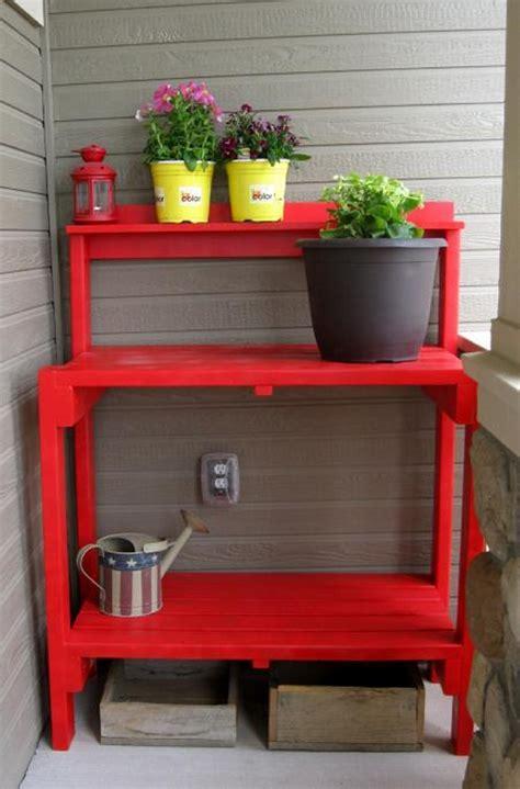 simple potting bench plans brilliant ideas for pallet potting tables wood pallet ideas