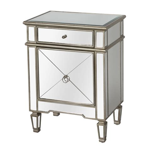 mirrored side table cheap mirrored end tables with drawers images about mirrored