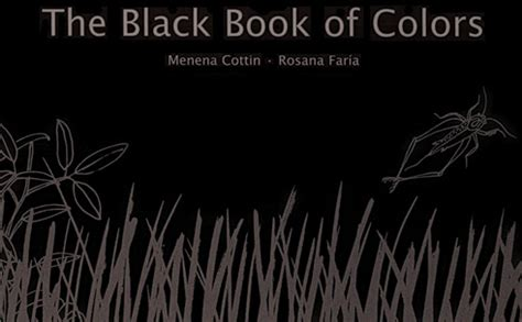 of a a curtis black novel books a picture book a day the black book of colors