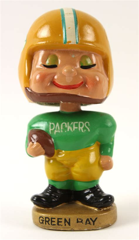 bobblehead values lot detail 1960 s green bay packers vintage 5 5