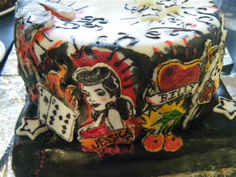 tattoo cake circus cakes the cake