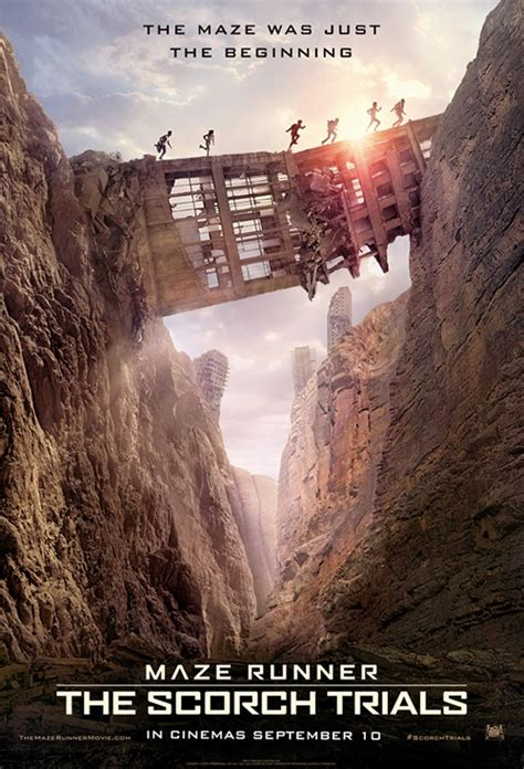 maze runner film company movie poster for maze runner the scorch trials flicks co nz