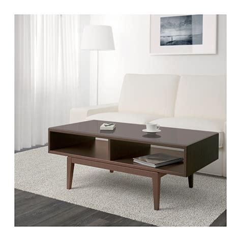 Brown Glass Coffee Table Regiss 214 R Coffee Table Brown Glass 118x60 Cm Ikea