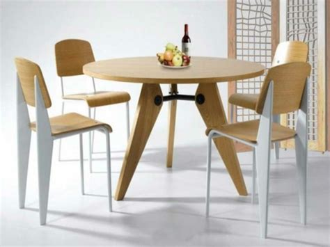 table cuisine ik饌 optez pour la table ronde de design moderne