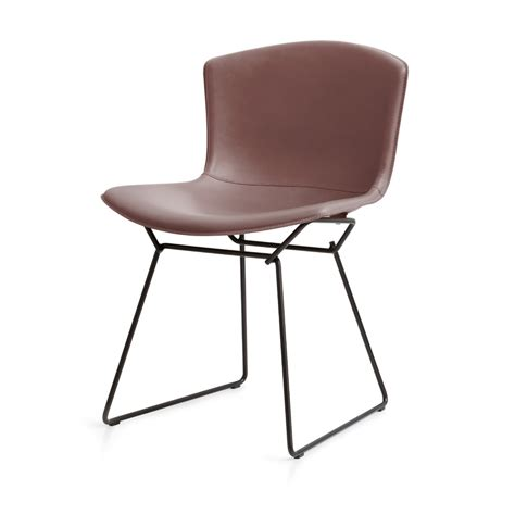 Cowhide Chairs by Bertoia Plastic Side Chair In Cowhide Knoll