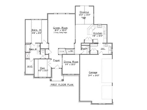 1 5 story floor plans 1 5 story house plans eco house plans