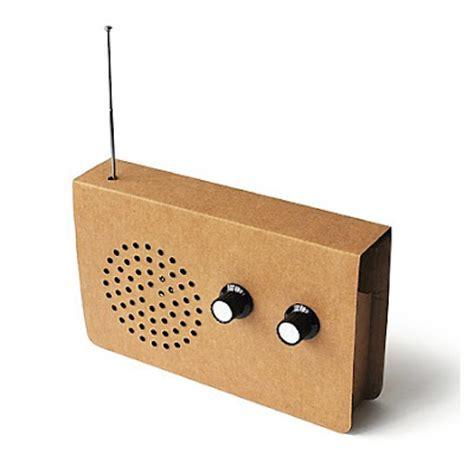 radio reciclable radio de cart 243 n regalos curiosos