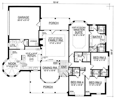 brentwood house plan the brentwood 8203 4 bedrooms and 2 5 baths the house designers