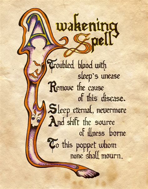 libro the bone witch spell page inspiration witchy crafty
