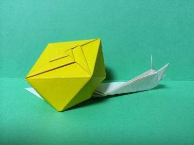 Origami Snail - origami snail tokyoing