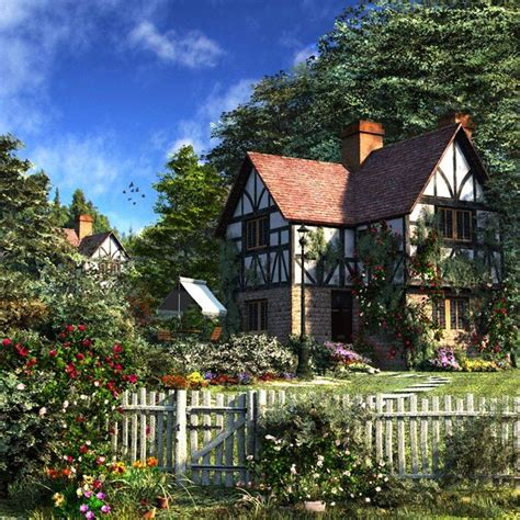 english tudor cottage charming english cottage and yard tudor style