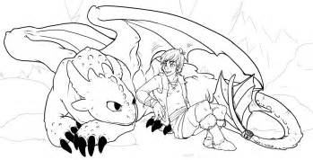 train dragon coloring pages toothless hiccup coloringstar