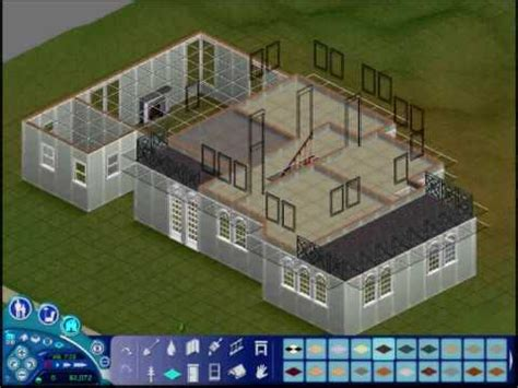 want to build a house the sims 1 making a house v1 build mode part one youtube