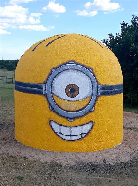minion ready  protect  storms monolithic dome