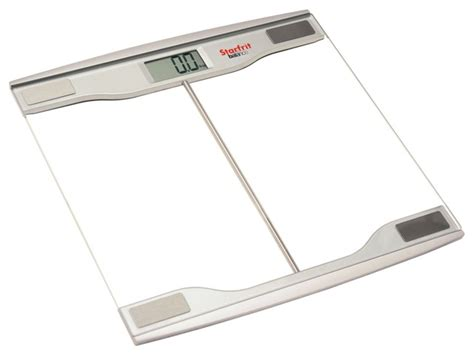 balance form bathroom scale starfrit balance electronic glass scale clear