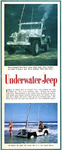 jeep snorkel underwater 1000 images about vintage jeep cj5 and willys on