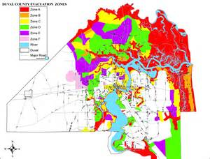 florida winn dixie map new duval evacuation maps released preparedness