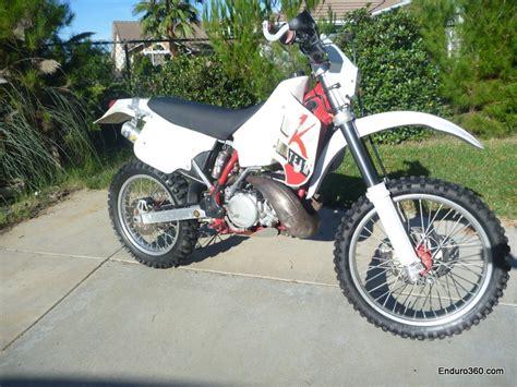 1991 Ktm 250 Exc 1991 Ktm 250exc Tech The Race Bike Enduro360